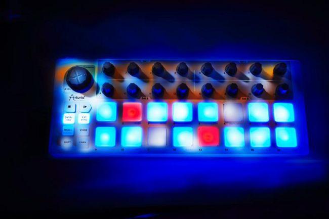 Mobilny kontroler MIDI