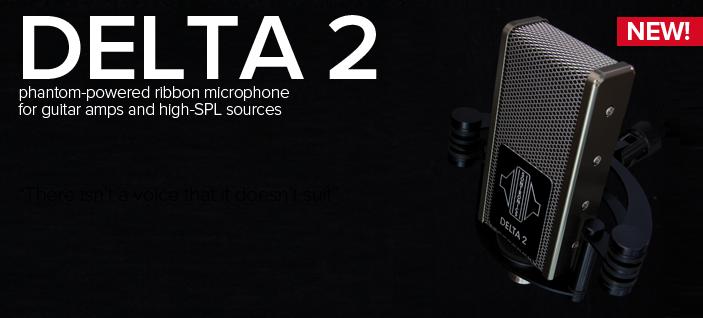 Mikrofon wstęgowy Sontronics Delta 2
