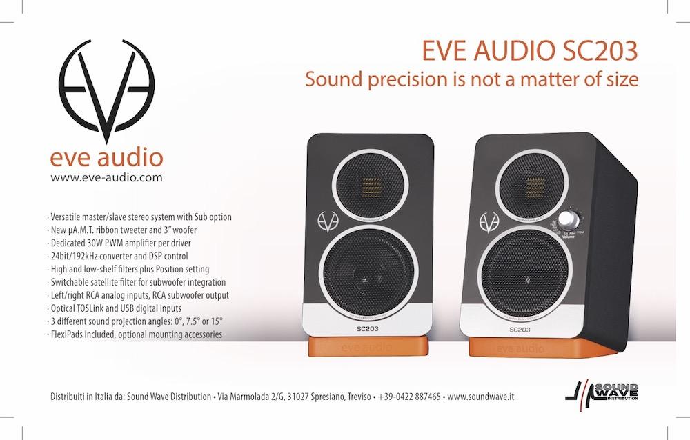 Eve Audio SC203 - mobilne monitory studyjne