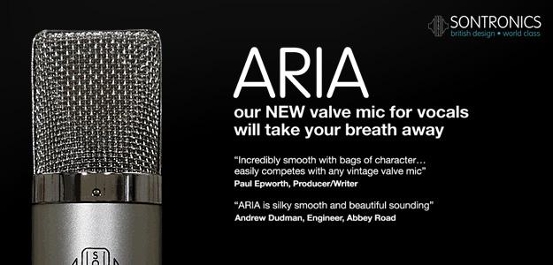 Mikrofon lampowy Sontronics Aria