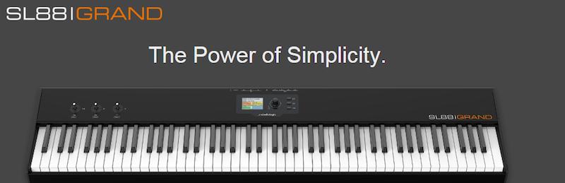 SL 88 Grand – klawiatura sterująca Studiologic
