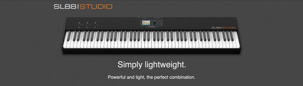 SL88 Grand – kontroler MIDI Studiologic