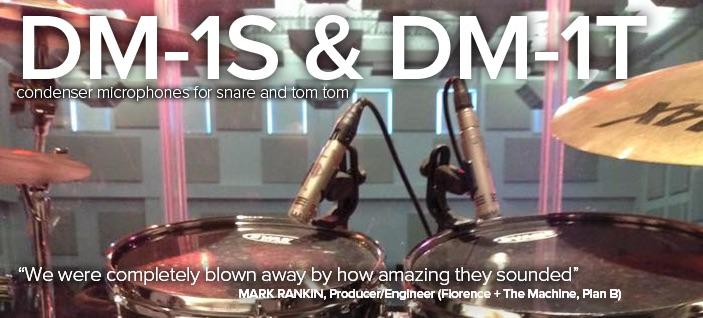 Mikrofon perkusyjny Sontronics DM-1S – mikrofon pojemnościowy stworzony z myślą o wielu