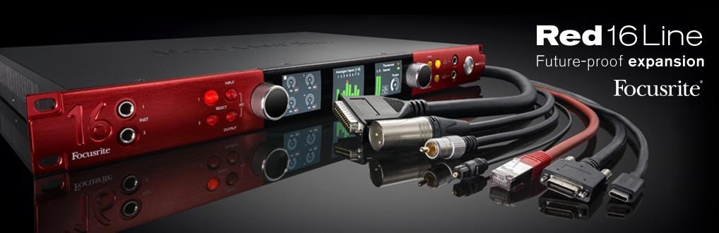 interfejs audio thunderbolt