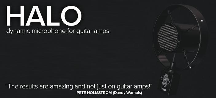 Sontronics HALO – mikrofon dynamiczny do wzmacniaczy gitarowych