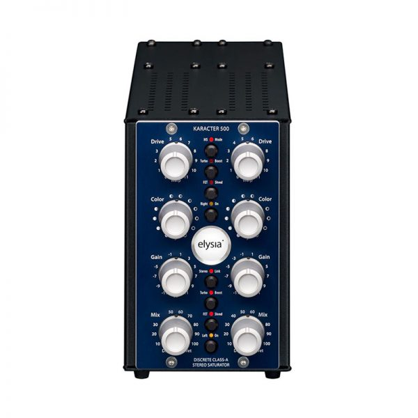 analogowy saturator stereo