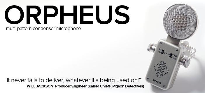 Sontronics Orhpeus – mikrofon pojemnościowy
