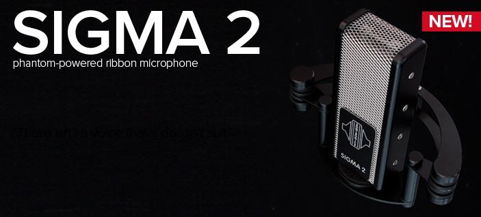 Sontronics Sigma 2 – mikrofon wstęgowy