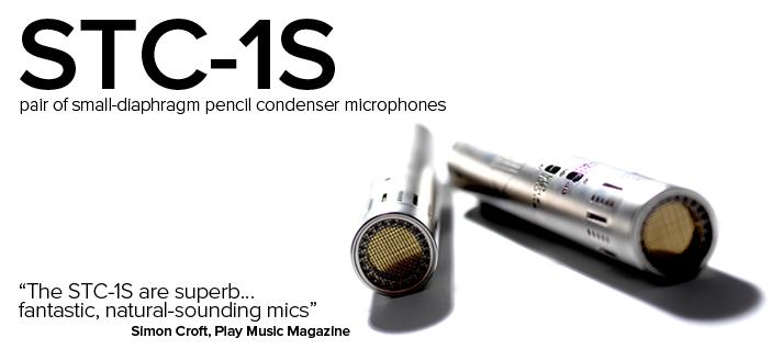Mikrofony pojemnościowe Sontronics STC-1S