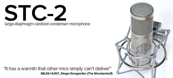 Sontronics STC-2 – wielkomembranowy mikrofon pojemnościowy