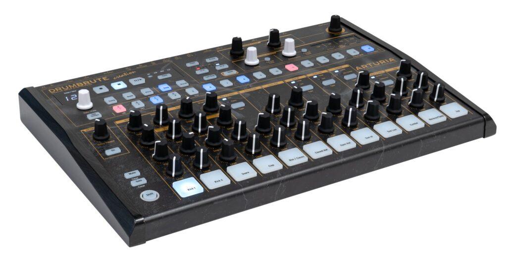 Arturia DrumBrute Creations Edition – analogowy automat perkusyjny