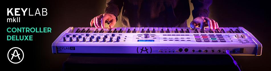 Arturia KeyLab MKII 61 White – nowoczesny kontroler MIDI