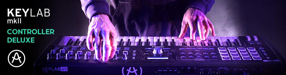 Arturia KeyLab MkII 49 Black – profesjonalny kontroler MIDI Arturia