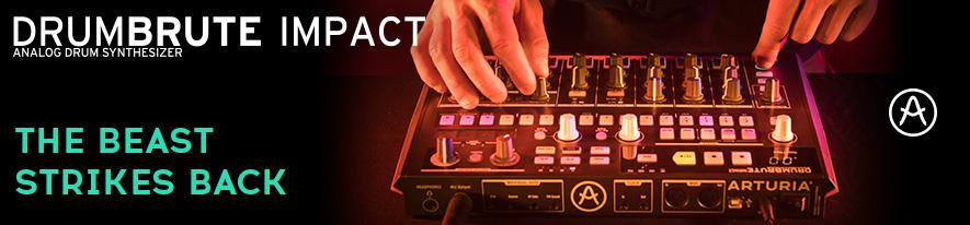 Arturia DrumBrute Impact - automat perkusyjny Arturia