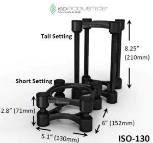 IsoAcoustics ISO-130 – profesjonalny izolator IsoAcoustics