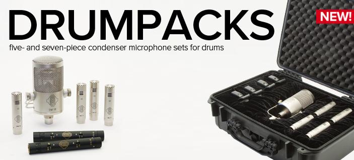 Sontronics DrumPack Plus – doskonały zestaw mikrofonowy Sontronics
