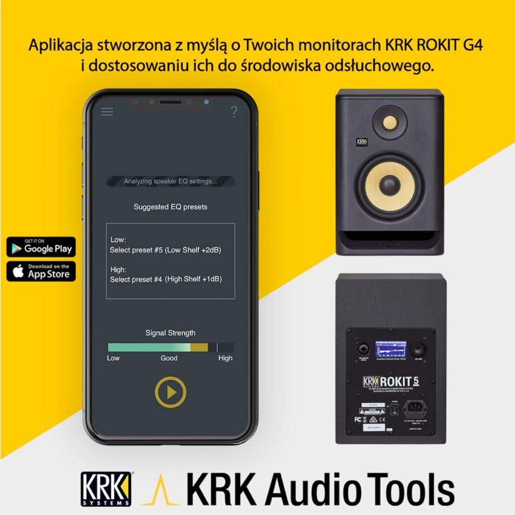 Kolumny głośnikowe KRK ROKIT RP7 4. G4 - KRK Audio Tools
