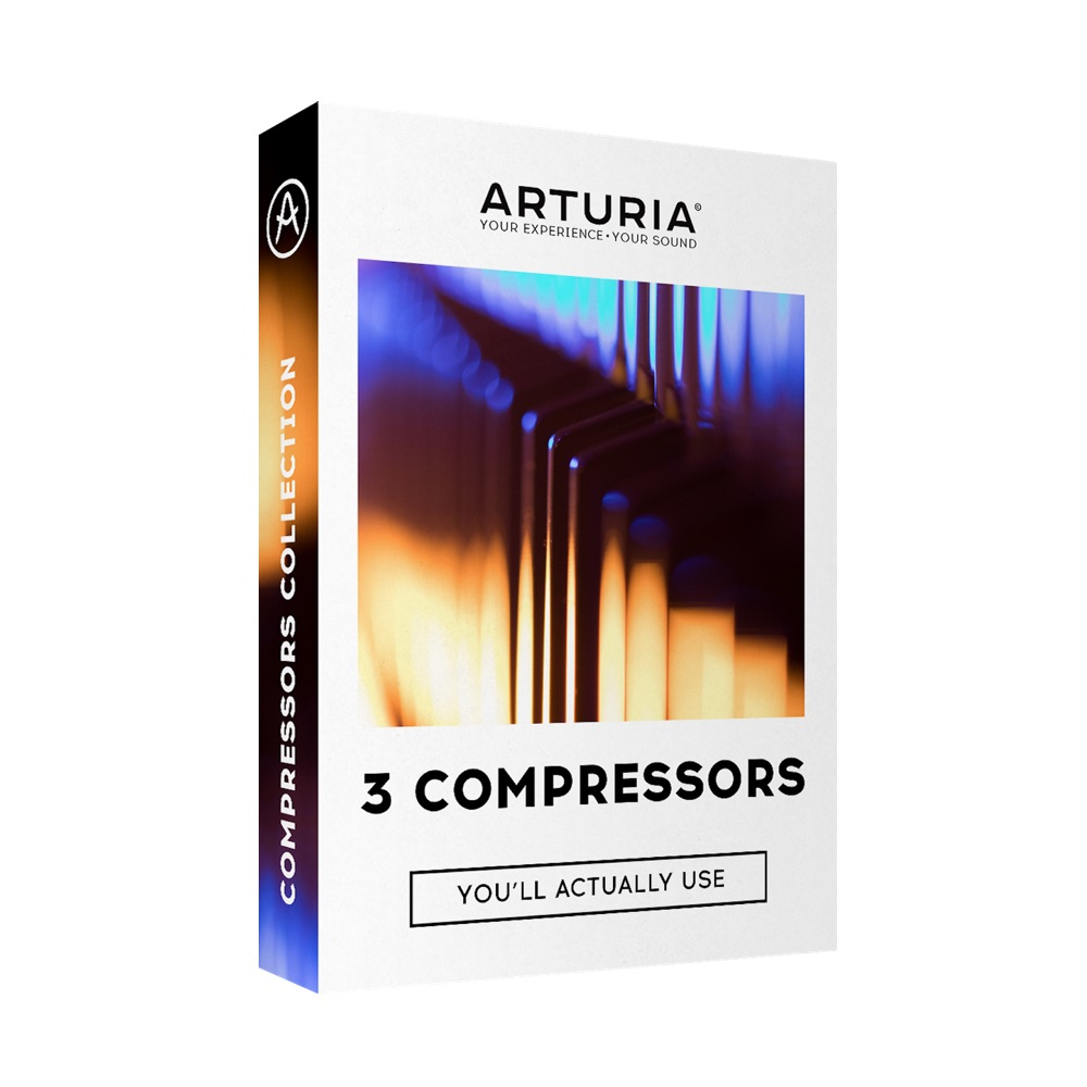 3 Compressors You'll Actually Use - kompresory Arturia