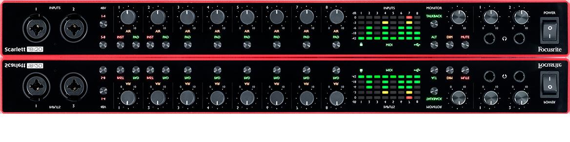 Interfejs audio Focusrite Scarlett 18i20 3rd Gen