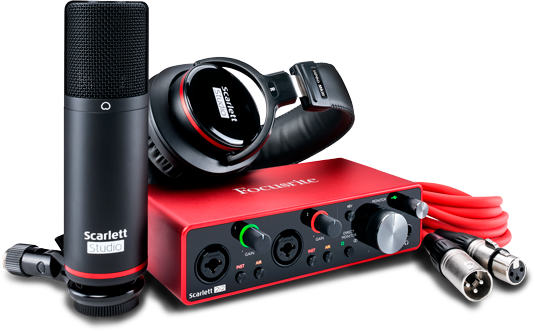 Focusrite Scarlett 2i2 Studio 3rd Gen – interfejs audio USB