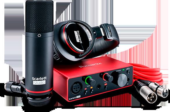 Sprzęt audio Focusrite Scarlett solo studio 3rd gen