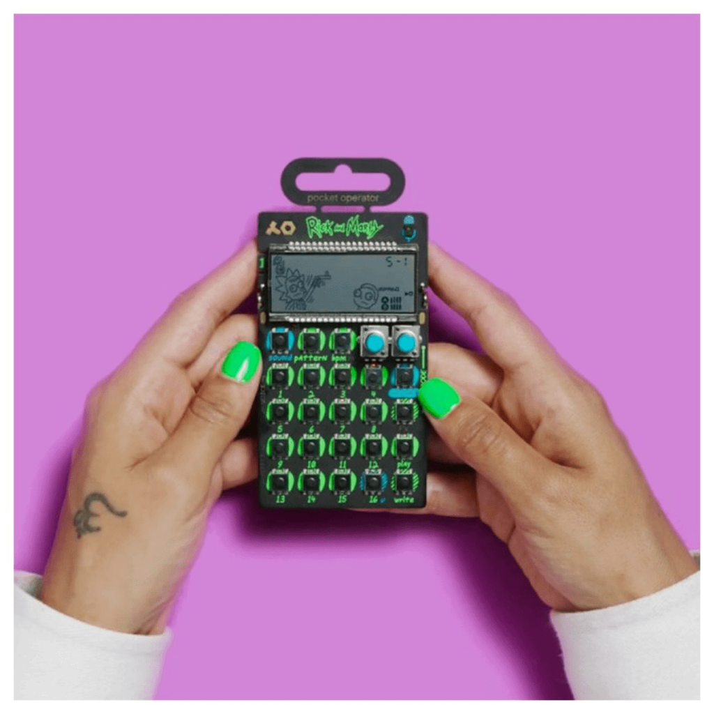 "TEENAGE ENGINEERING PO-137 ""RICK AND MORTY"" – POCKET OPERATOR"