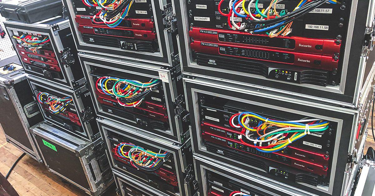 focusrite rednet rack 2