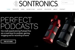 Sontronics nowa strona