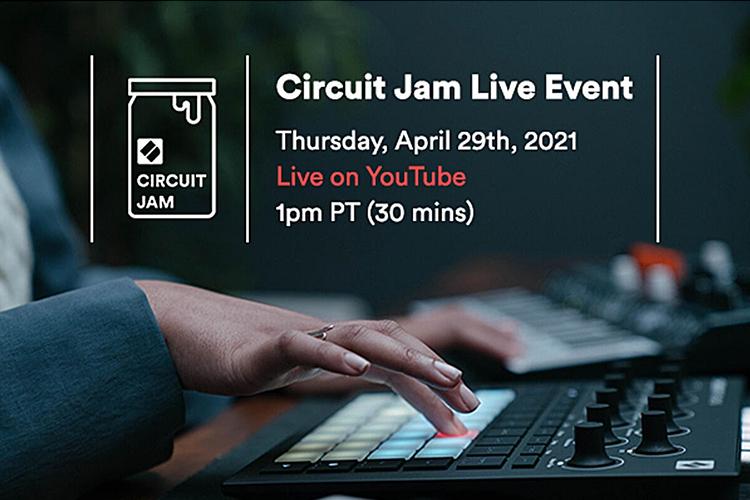 Novation Circuit Tracks Jam Live