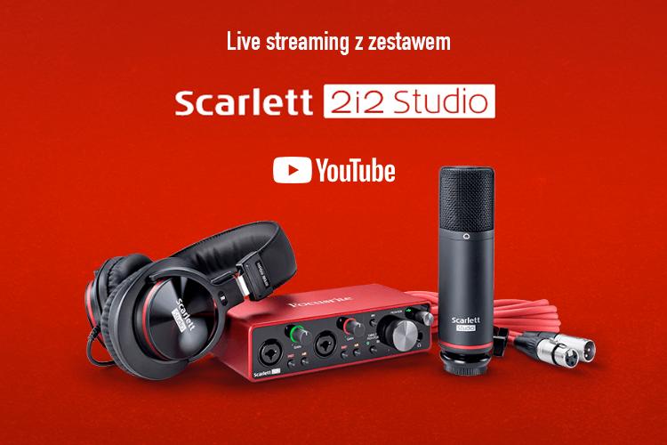Focusrite Scarlett 2i2 Studio