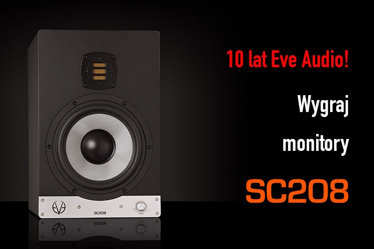 EVE Audio SC208 w prezencie na 10 urodziny!