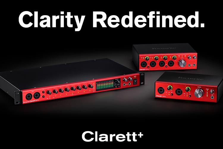 Focusrite Clarett+